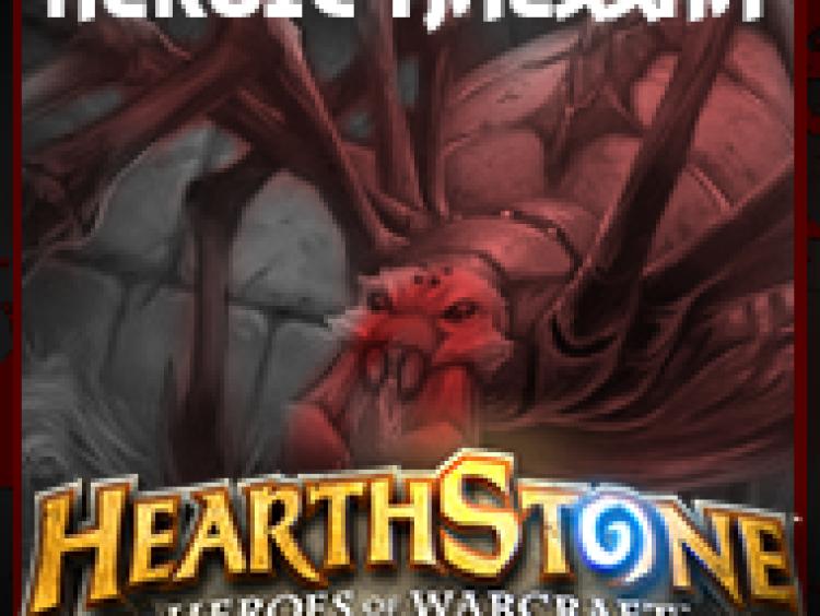 Hearthstone – How to Beat Heroic Maexxna